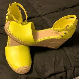 Marc Fisher Studded Wedges!